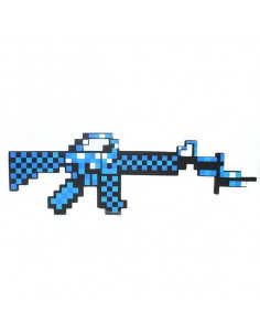 Алмазный автомат M16 Майнкрафт (Minecraft)