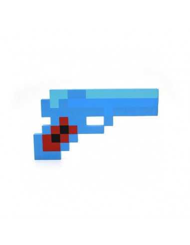 Алмазный пистолет Майнкрафт (Minecraft)