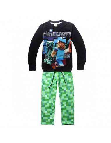 Костюм на мальчика Minecraft темно-зеленый