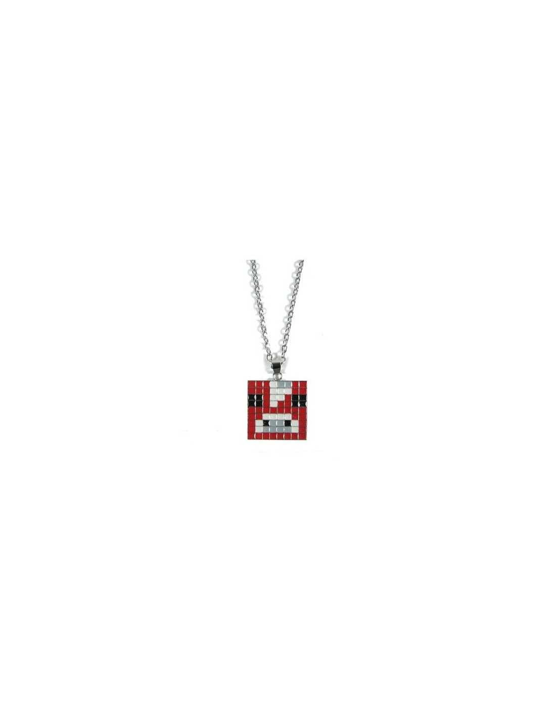 Кулон Красная корова Minecraft