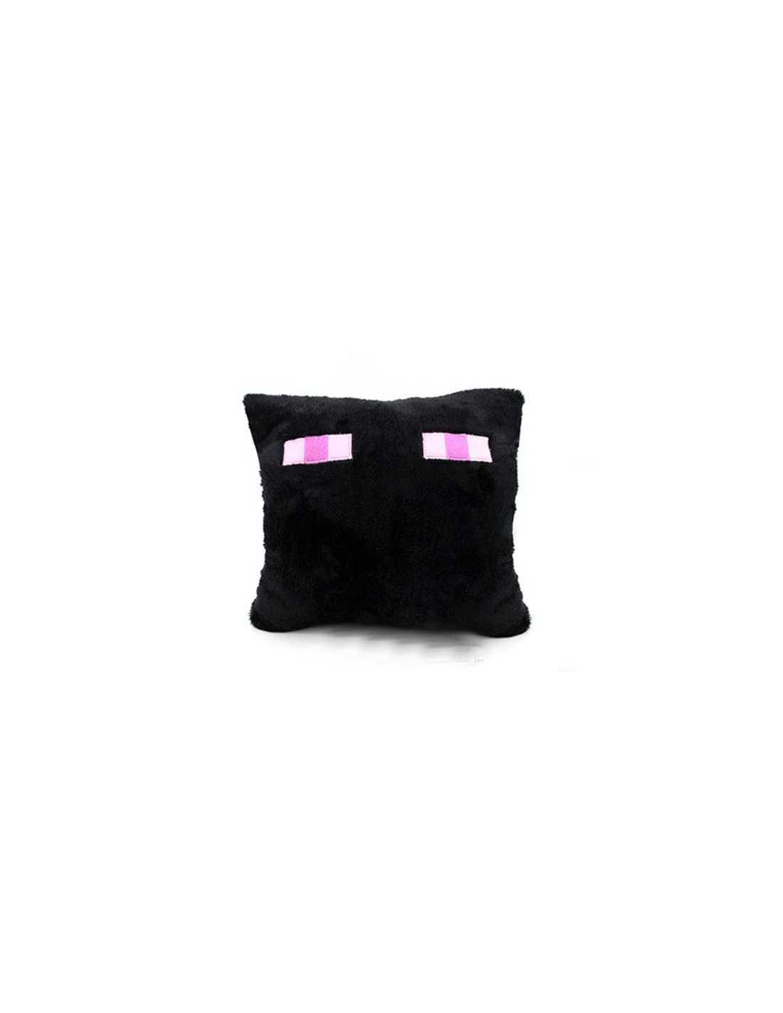 Подушка Minecraft (Майнкрафт) Эндэрдракон темная