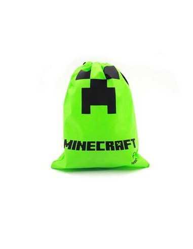 Мешочек Minecraft зеленый