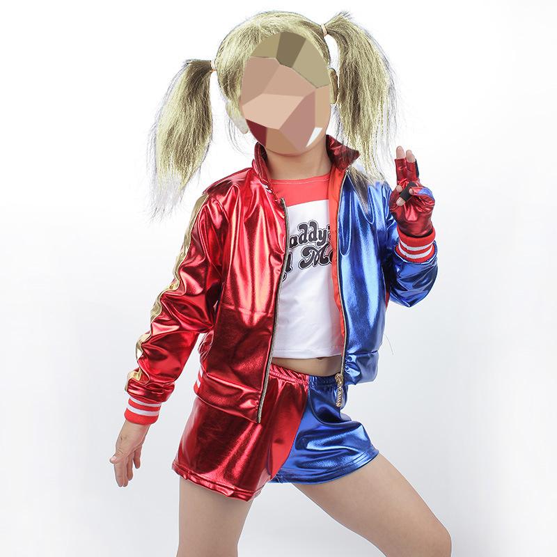 Десткий костюм Харли Квинн на девочку