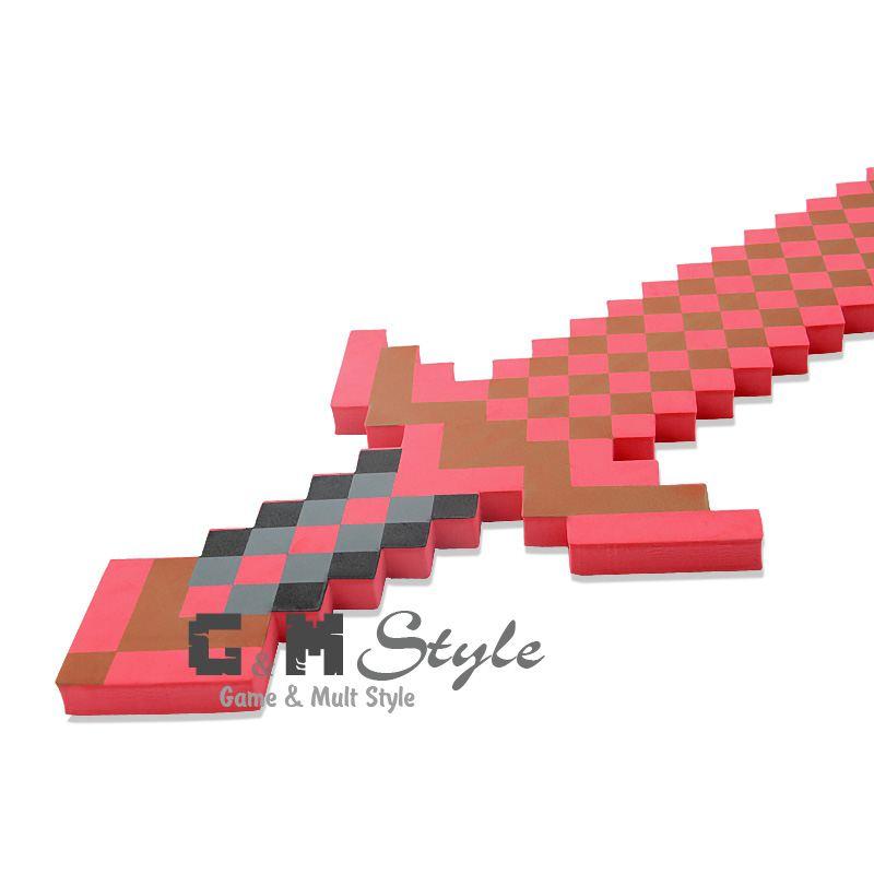 Большой меч Minecraft Red Stone